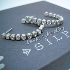 SILPADA CZ & Sterling Earrings